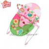 Bright Starts Шезлонг за бебе с вибрации ПЧЕЛИЧКИ от серията Pretty in Pink - 60254