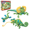 Bloco Toys Puzzle EVA 3D Lizards and Chameleons, 21001