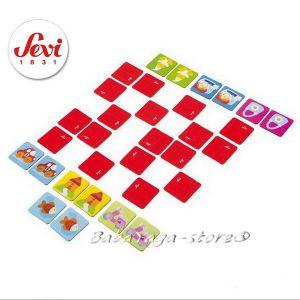 SEVI Дървена Игра mini MEMORY от серията Travel Games от Trudi - 81888