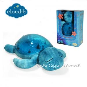 7423 Нощна прожекционна музикална лампа КОСТЕНУРКА за детска стая от CloudB, Tranquil Turtle