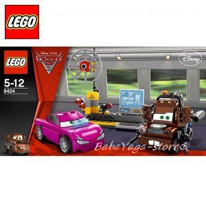 LEGO CARS - Duplo - Шпионска зона с Матю - 8424