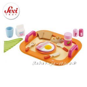ЗАКУСКА дървена играчка с марката Sevi - 82317