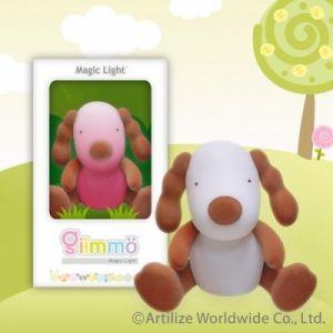 Нощна декоративна лампа за детска стая - КУЧЕ Кокер шпаньол Boone  Giimmo