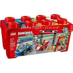 2014 LEGO Конструктор JUNIORS Race Car Rally - 10673