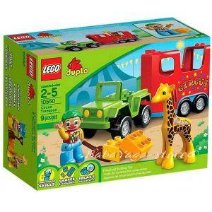 LEGO DUPLO Circus Transport, 10550