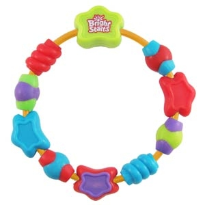 Bright Starts Rattle Toys STARRY TEETHER, 8668