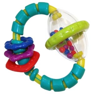 Bright Starts Rattle Toy GRAB & SPIN, 8533