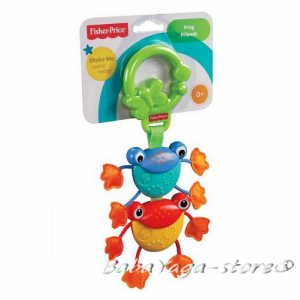 Fisher Price Играчка за количка ЖАБИ Frog Friends - Y6577