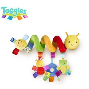 Taggies Играчка-Спирала за количка Go with me Friends - 25046
