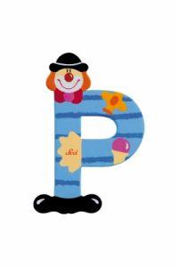 SEVI Буква P дървена  Clown