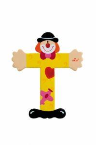 SEVI Буква T дървена  Clown