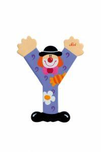 SEVI Буква Y дървена  Clown