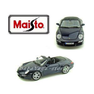 Maisto Special Edition КОЛА PORSCHE 911 Carrera S Cabriolet 1:18 тъмно син металик - 31126