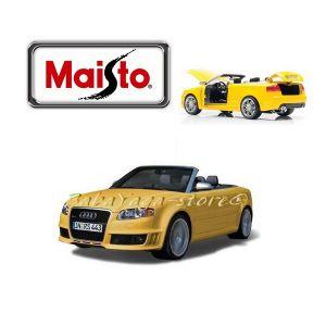 Maisto Special Edition КОЛА AUDI RS4 1:18 - жълт - 31147