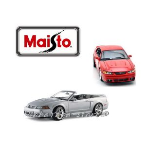 Maisto Special Edition КОЛА 2003 FORD SVT MUSTANG COBRA 1:18 - сребрист - 31646