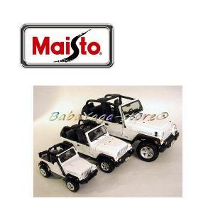 Maisto Special Edition ДЖИП WRANGLER RUBICON 1:18 - бял - 31663