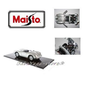 Maisto Special Edition КОЛА PORSCHE 550A SPYDER 1:18 - сребрист 31843