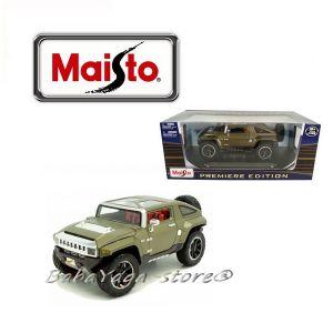 Maisto Premiere Edition ДЖИП 1:18 HAMMER HX Concept - зелен - 36171