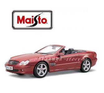 Maisto Premiere Edition КОЛА 1:18 MERCEDES Benz SL-Class - червен - 36623