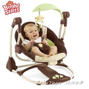 Bright Starts Люлка музикална за бебе King Lion Disney от серията InGENUITY - 60030