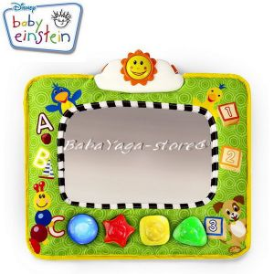 Bright Starts Огледало музикално Baby Einstein Music & Discovery Travel Mirror - 90608