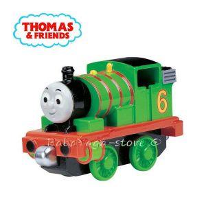 Fisher Price - Thomas & Friends ЛОКОМОТИВ Percy от серията Take Along -  LC76003