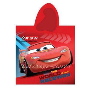 Хавлия ПОНЧО Колите - Cars bath towel poncho - CARS01PT