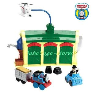 Fisher Price Депо PRE-S, Thomas and Friends Tidmouth Sheds Engine Depot Playset - W4712