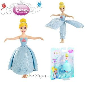 Disney Кукла ПЕПЕЛЯШКА Принцеса от серията Princess Little Kingdom Waterplay Cindarrella - BDJ58