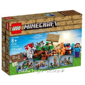 LEGO Minecraft Креативен комплект - Crafting Box - 21116