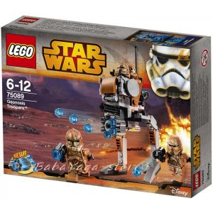 LEGO Конструктор STAR WARS Geonosis Troopers - 75089