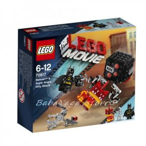 LEGO Конструктор The MOVIE Batman & Super Angry Kitty Attack - 70817