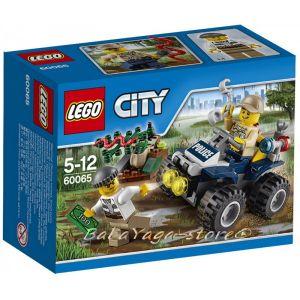 LEGO City Патрул с бъги ATV Patrol  - 60065