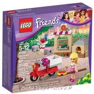 2015 LEGO Конструктор Friends Пицарията на Стефани Stephanie's Pizzeria - 41092
