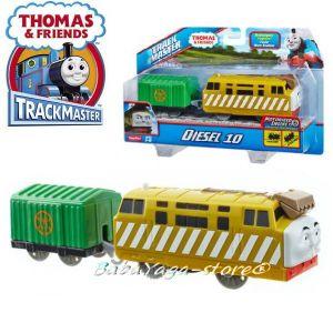 Fisher Price ЛОКОМОТИВ ДИЗЕЛ10 Thomas & Friends Motorized Diesel 10 Engine от серията TrackMaster™ BMK92