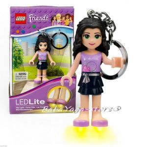 Lego Friends LED Keyring Key Chain Key Light Torch - Recreation EMMA