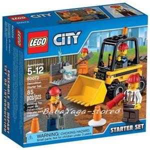 LEGO City Начален комплект Demolition Starter Set - 60072