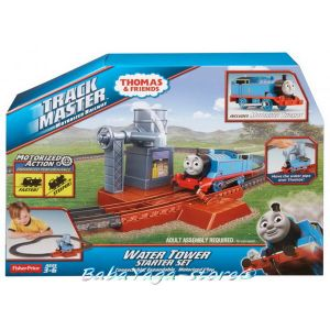 Fisher Price Влакчето ТОМАС Thomas & Friends Water Tower Starter Set от серията TrackMaster™ BDP11