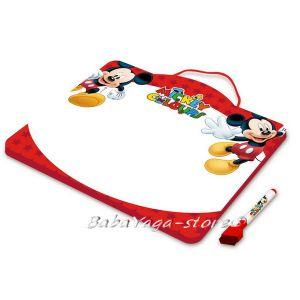 Магнитна дъска за рисуване с маркер Мики Маус - Tinplate Board with maker pen Mickey Mouse 73044