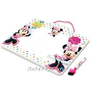 Магнитна дъска за рисуване с маркер Мини Маус - Tinplate Board with maker pen Minnie Mouse 73044