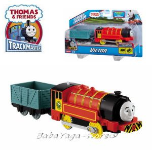 Fisher Price ЛОКОМОТИВ ВИКТОР Thomas & Friends Motorized VICTOR Engine от серията TrackMaster™ BMK90