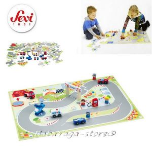 Sevi Puzzle F1 with miniatures - 82626