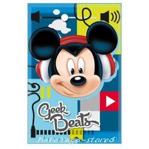Детско одеяло МИКИ МАУС Mickey Mouse Beats fleece blanket - 07204