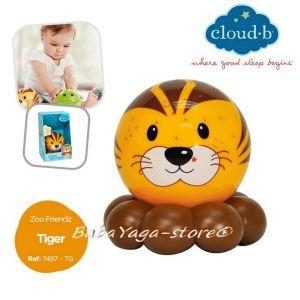 7457 Нощна лампа ТИГЪР за детска стая от CloudB Dreamz To Go Zoo Friendz, Tiger
