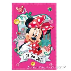 Детско одеяло МИНИ МАУС Minnie Mouse fleece blanket SWEET - 07227