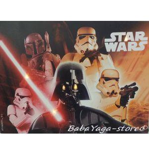Картина с LED светлина за детска стая Междузвездни войни -  Star Wars canvas 14062
