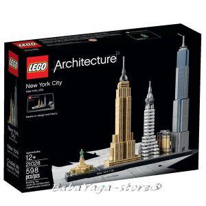 LEGO Architecture НЮ ЙОРК Сити, New York City, 21028