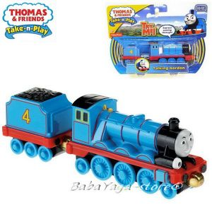 2016 Fisher Price Влакчето ГОРДОН Thomas & Friends TALKING GORDON от серията Take-n-Play CKV28