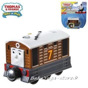 Fisher Price Вагончето ТОБИ Thomas & Friends TOBY Take-n-Play - CBL83