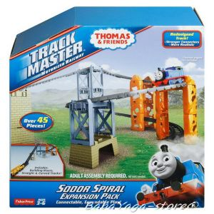 Fisher Price ПИСТА-спирала на СОДОР Thomas & Friends Sodor spiral truck Expansion Pack от серията TrackMaster™ BHY49